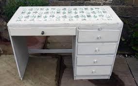 vintage writing desk painted in chippy miss mustard seed milk