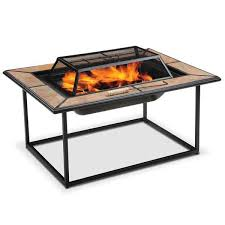Rectangle Fire Pit - convertible rectangular fire pit fp 9024 afw