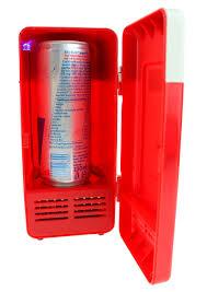 fridge red light channel distribution gifts en gadgets usb desktop fridge with