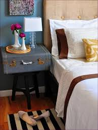 Small Tall Bedroom End Tables Bedroom Design Ideas Narrow Bedside Table Dark Wood 24 Inch