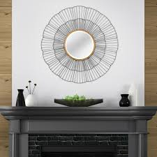 mirror home decor stratton home decor shavon decorative wall mirror s07648 the