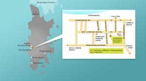 Phuket Thailand Map Location Palmyra Patong Resort Patong Beach Hotel Phuket