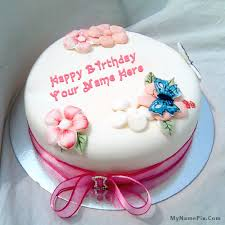 write name on birthday cake for sister happy birthday cake with name
