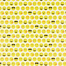 yellow wrapping paper emoji wrapping paper the container store