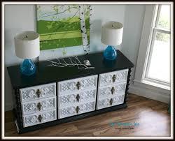 Glossy White Dresser The Turquoise Iris Furniture U0026 Art Vintage Glossy Dresser In