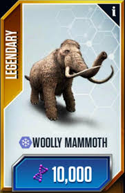 woolly mammoth stats