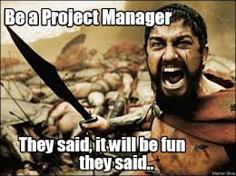 They Said Meme Generator - meme maker be a project manager they said it will be fun they said