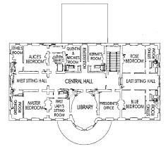 floor plan for the white house second floor white house museum