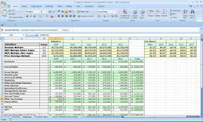business monthly expenses spreadsheet template and small business