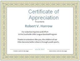 certificate free templates volunteer appreciation certificates free templates imts2010 info