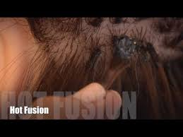 hot extensions how to apply hot fusion hair extensions