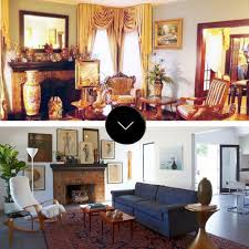 danish living room before u0026 after upgrading to danish modern in california u2013 design