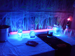 halloween party ideas black light bar daily party dish