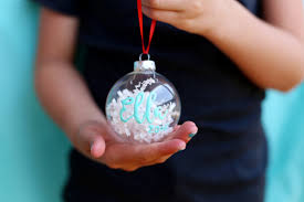personalized ornaments paint personalized ornaments diy with sugarbee crafts
