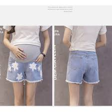 maternity shorts summer denim maternity shorts for women clothing