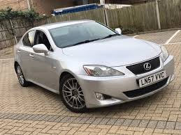 lexus is or bmw 3 2007 lexus is 250 2 5 petrol manual saloon silver good drive mot