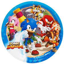 sonic the hedgehog party supplies sonic boom dinner plates this party started