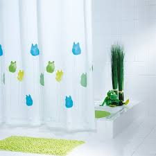 Polyester Shower Curtains 57 Frog Shower Curtain American Green Tree Frog Shower Curtain