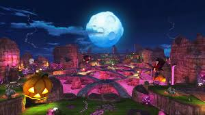 halloween game background happy wars gets scary halloween map xblafans
