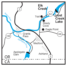 Map Of Grants Pass Oregon by Rogue River Basin