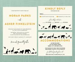 wedding invitations kansas city modern zoo wedding suite diy printable invite rsvp