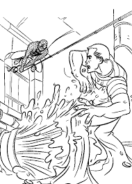 spiderman coloring pages print