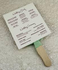 wedding program fans wording wedding fan programs templates free mini bridal