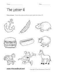 letter h worksheet free worksheets library download and print