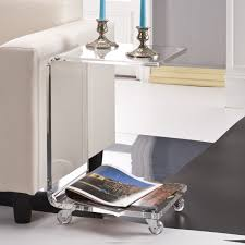 lucite coffee tables lucite table as the table choice for your