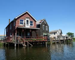 stilt houses on hawtree basin ramblersville queens new u2026 flickr