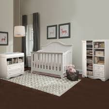 Changing Table Crib Thomasville Southern Dunes 3 Nursery Set Lifestyle Crib