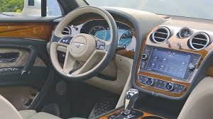 bentley bentayga 2017 interior youtube