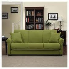 robert linen rolled arm convert a couch futon sofa sleeper handy