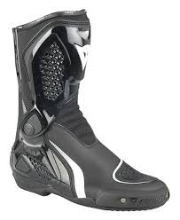white motorcycle boots dainese tr course out boots revzilla
