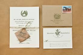 wedding invitations ideas diy diy rubber st equestrian wedding invitations