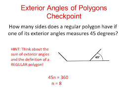 How Many Interior Angles Does A Pentagon Have Exterior Angles Of Polygons Exterior Angles Are Formed By