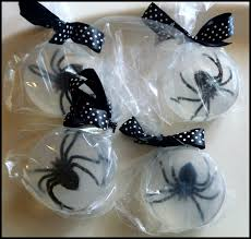 halloween party goodie bags halloween craft spider soap