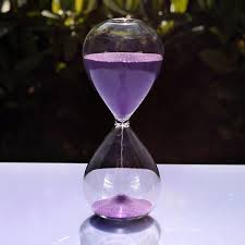 Hourglass Home Decor 5 Minutes Sandglass Hourglass Time Counter Count Down Timer Clock