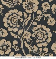 flowers seamless pattern element vector background vector flower seamless pattern element elegant stock vector hd