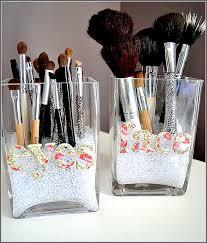 Makeup Bathroom Storage Bathroom Vanity Makeup Organizer Home Design Ideas Pertaining To