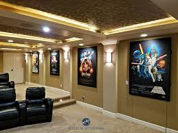 Home Theater Design Software Online Home Theatre Room With Textured Acoustic Tile Ceiling Movie