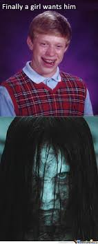 Poor Brian Meme - bad luck brian gets a girlfriend by jacse meme center