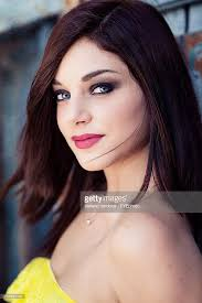dark hair with grey models dark haired model light grey eyes stock photo getty images