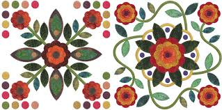 of machine embroidery quilt designs