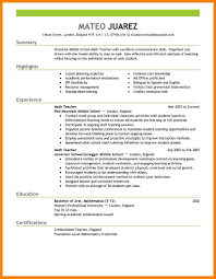 faculty resume format resume format doc for teachers frizzigame 4 teachers resume format doc resume emails