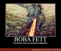 Boba Fett Meme - i knew boba fett survived by dudu nikolaishvili meme center