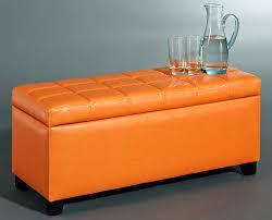 Storage Cubes Ottoman by Ottoman Orange Storage Ottoman Bench Lovable Orange Storage