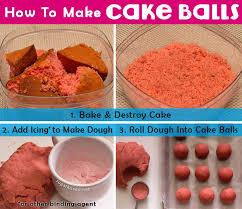how to make a cake step by step cake pops how to make cake ideas