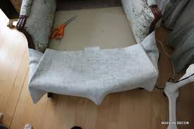 how to cover a chair maison decor how to reupholster the easy way my chair