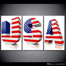 Us Flags Com 2018 Framed Hd Printed Usa 3d Letter Us Flag Poster Picture Wall